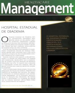 2014-PONTUANDO A EXCELENCIA PREMIO EXCELENCIA DA SAUDE HOSPITAL ESTADUAL DE DIADEMA